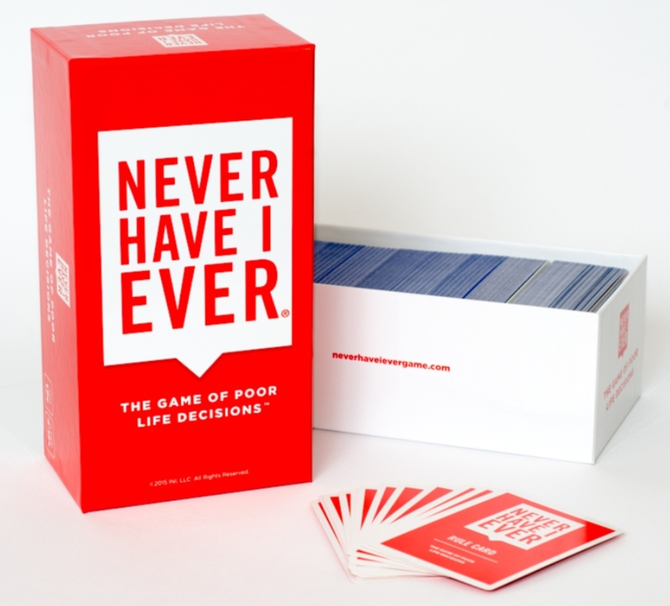 Never Have I Ever, The Game of Poor Life Decisions Card Game